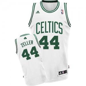 Boston Celtics #44 Adidas Home Blanc Swingman Maillot d'équipe de NBA Remise - Tyler Zeller pour Homme