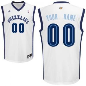 Maillot Memphis Grizzlies NBA Home Blanc - Personnalisé Swingman - Enfants