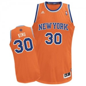 Maillot NBA Swingman Bernard King #30 New York Knicks Alternate Orange - Homme