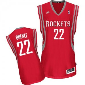 Maillot Swingman Houston Rockets NBA Road Rouge - #22 Clyde Drexler - Homme