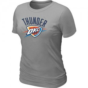 T-Shirts NBA Oklahoma City Thunder Gris Big & Tall - Femme