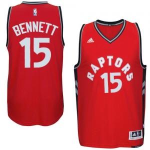 Maillot Swingman Toronto Raptors NBA climacool Rouge - #15 Anthony Bennett - Homme