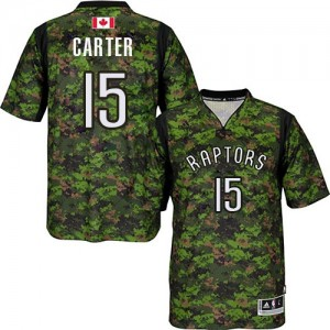 Maillot NBA Swingman Vince Carter #15 Toronto Raptors Pride Camo - Homme