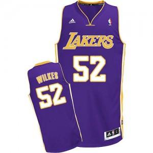 Los Angeles Lakers #52 Adidas Road Violet Swingman Maillot d'équipe de NBA en ligne pas chers - Jamaal Wilkes pour Homme