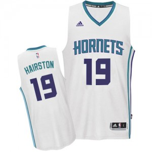 Maillot NBA Authentic P.J. Hairston #19 Charlotte Hornets Home Blanc - Homme