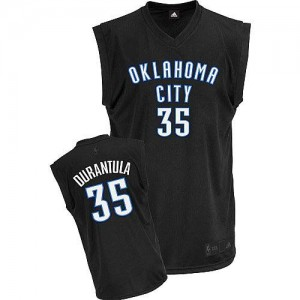 Maillot NBA Authentic Kevin Durant #35 Oklahoma City Thunder Durantula Fashion Noir - Homme