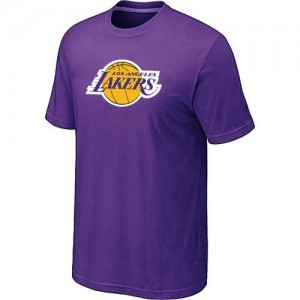Los Angeles Lakers Big & Tall T-Shirts d'équipe de NBA - Violet pour Homme