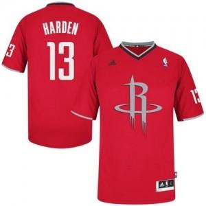 Houston Rockets James Harden #13 2013 Christmas Day Swingman Maillot d'équipe de NBA - Rouge pour Homme