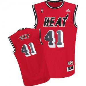 Miami Heat #41 Adidas Throwback Rouge Swingman Maillot d'équipe de NBA achats en ligne - Glen Rice pour Homme