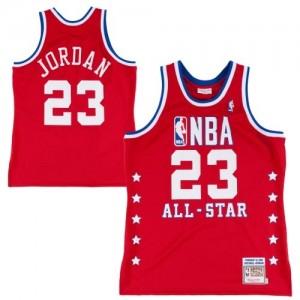 Maillot NBA Swingman Michael Jordan #23 Chicago Bulls Throwback 1992 All Star Rouge - Homme