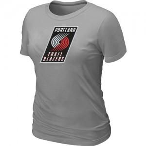 T-Shirts NBA Portland Trail Blazers Gris Big & Tall - Femme