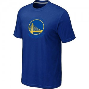 T-shirt principal de logo Golden State Warriors NBA Big & Tall Bleu - Homme