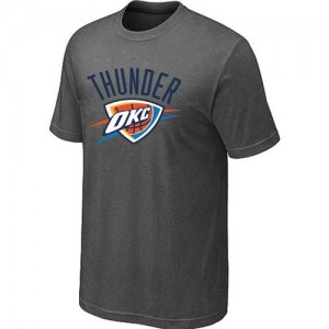 T-Shirts NBA Oklahoma City Thunder Big & Tall Gris foncé - Homme