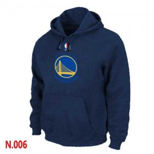 Pullover Sweat à capuche Golden State Warriors NBA Marine - Homme