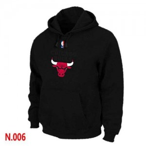 Sweat à capuche NBA Rouge Chicago Bulls Homme