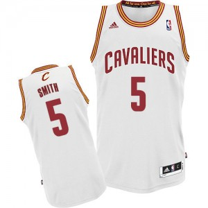 Maillot Swingman Cleveland Cavaliers NBA Home Blanc - #5 J.R. Smith - Homme