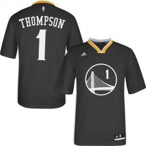 Maillot NBA Golden State Warriors #40 Harrison Barnes Noir Adidas Authentic Alternate - Homme