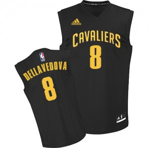 Maillot NBA Authentic Matthew Dellavedova #8 Cleveland Cavaliers Fashion Noir - Homme