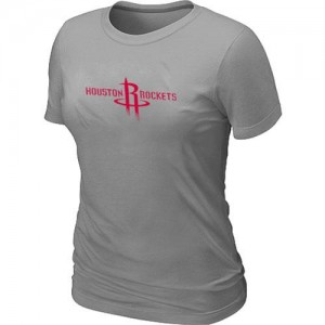 T-Shirts Gris Big & Tall Houston Rockets - Femme