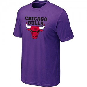 T-shirt à manches courtes Chicago Bulls NBA Big & Tall Violet - Homme