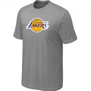 Los Angeles Lakers Big & Tall T-Shirts d'équipe de NBA - Gris pour Homme