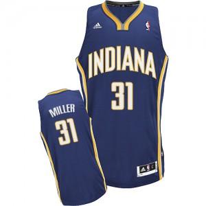 Indiana Pacers #31 Adidas Road Bleu marin Swingman Maillot d'équipe de NBA pas cher en ligne - Reggie Miller pour Homme