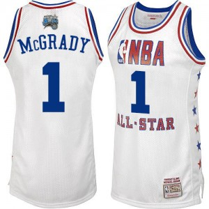 Maillot Mitchell and Ness Blanc 2003 All Star Swingman Orlando Magic - Tracy Mcgrady #1 - Homme