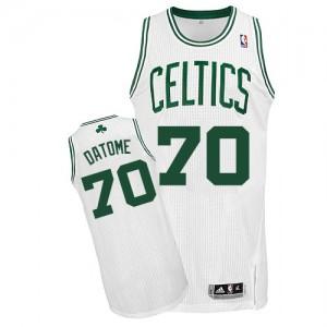 Maillot NBA Authentic Gigi Datome #70 Boston Celtics Home Blanc - Homme