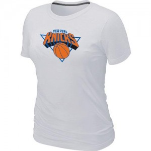T-Shirts NBA New York Knicks Big & Tall Blanc - Femme