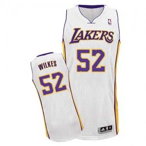 Los Angeles Lakers #52 Adidas Alternate Blanc Authentic Maillot d'équipe de NBA la meilleure qualité - Jamaal Wilkes pour Homme