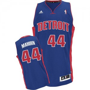 Detroit Pistons #44 Adidas Road Bleu royal Swingman Maillot d'équipe de NBA en ligne - Rick Mahorn pour Homme