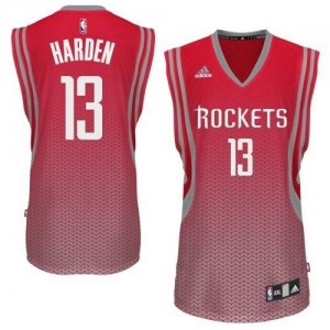 Maillot NBA Swingman James Harden #13 Houston Rockets Resonate Fashion Rouge - Homme