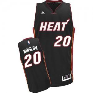 Maillot Swingman Miami Heat NBA Road Noir - #20 Justise Winslow - Homme