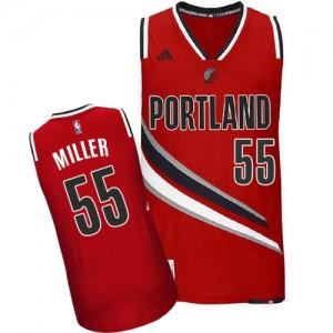 Portland Trail Blazers Mike Miller #55 Alternate Swingman Maillot d'équipe de NBA - Rouge pour Homme