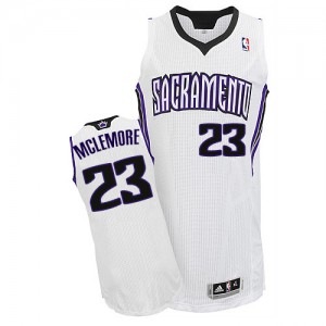 Sacramento Kings Ben McLemore #23 Home Authentic Maillot d'équipe de NBA - Blanc pour Homme