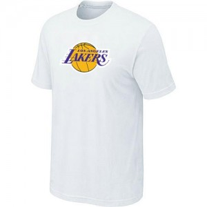 Los Angeles Lakers Big & Tall T-Shirts d'équipe de NBA - Blanc pour Homme