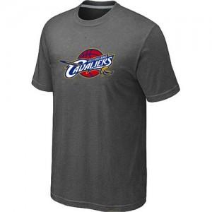 T-shirt principal de logo Cleveland Cavaliers NBA Big & Tall Gris foncé - Homme