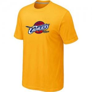 T-shirt principal de logo Cleveland Cavaliers NBA Big & Tall Jaune - Homme