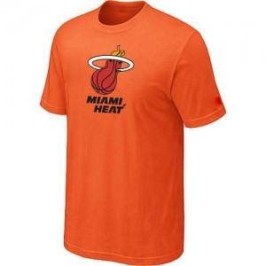 Miami Heat Big & Tall T-Shirts d'équipe de NBA - Orange pour Homme