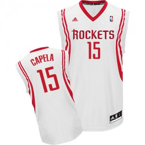 Maillot Swingman Houston Rockets NBA Home Blanc - #15 Clint Capela - Homme