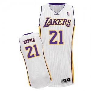 Los Angeles Lakers #21 Adidas Alternate Blanc Authentic Maillot d'équipe de NBA en vente en ligne - Michael Cooper pour Homme