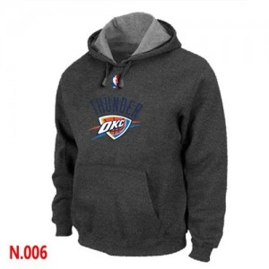 Sweat à capuche NBA Gris foncé Oklahoma City Thunder Homme