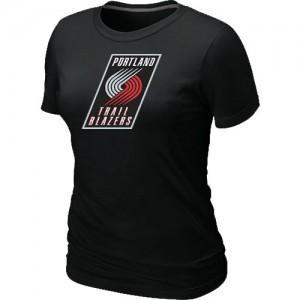 T-Shirts NBA Portland Trail Blazers Noir Big & Tall - Femme