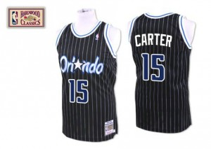 Maillot NBA Authentic Vince Carter #15 Orlando Magic Throwback Noir - Homme