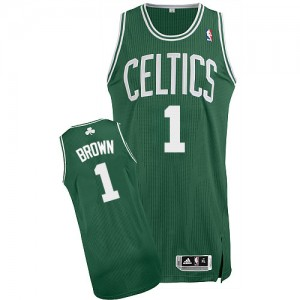 d3a3928e014d1 ... Boston Celtics #1 Adidas Road Vert (No Blanc) Authentic Maillot d'équipe