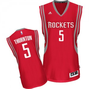 Maillot NBA Swingman Marcus Thornton #5 Houston Rockets Road Rouge - Homme